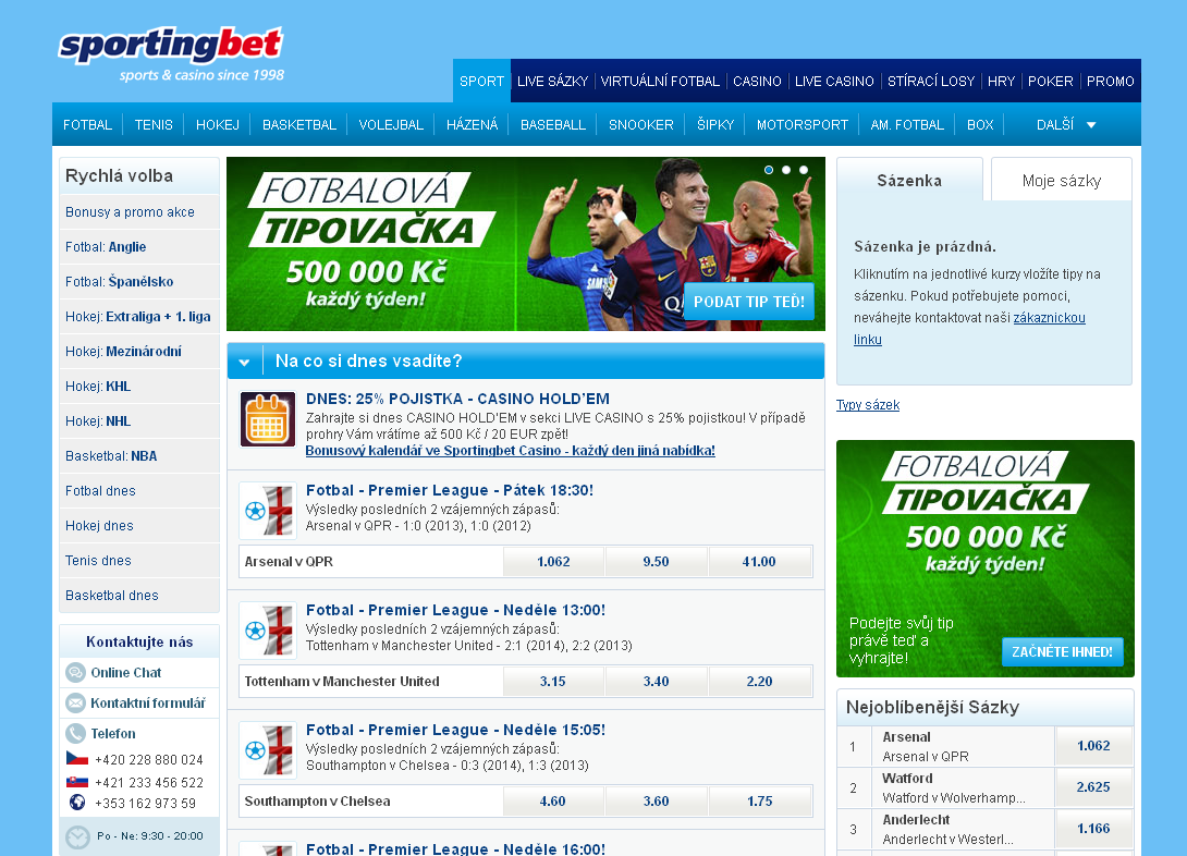 Sportingbet web